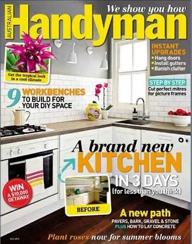 Handyman Magazine – June 2014 repairs plumbing kitchen repairs handyman handy man electrical do it yourself DIY