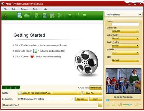 Xilisoft Video Converter 7 Ultimate v7.8.1 video splitter video resizing video repair video editor video converter