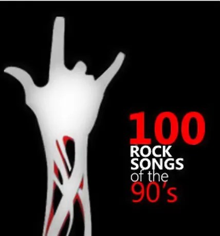 Top 100 Rock Songs of The 90s rock songs of the 90s rap hip hop dance 90s music