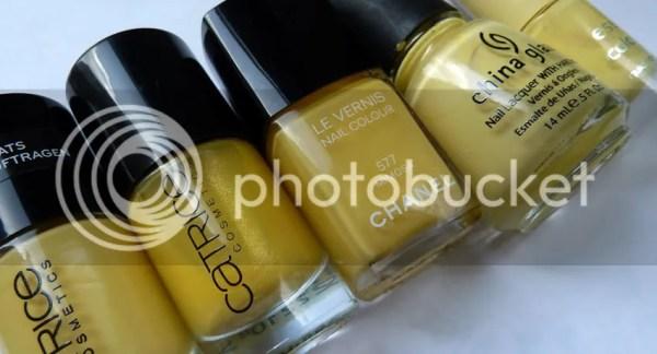 Gele Nagellakjes Vergeleken (Chanel Mimosa-dupe?) - Pinky ...