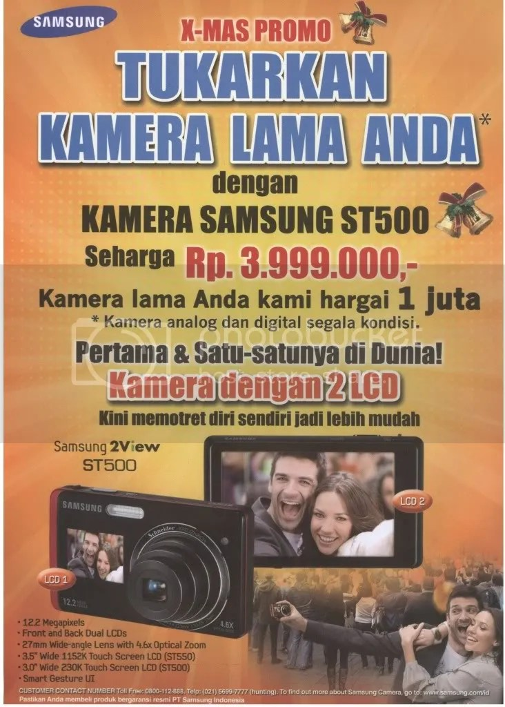 Promo Trade-In (tukar tambah) Samsung Camera