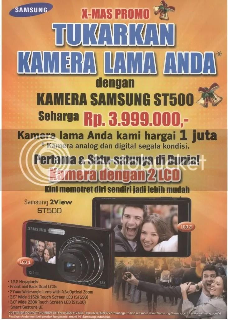 Promo Trade-In (tukar tambah) Samsung Camera