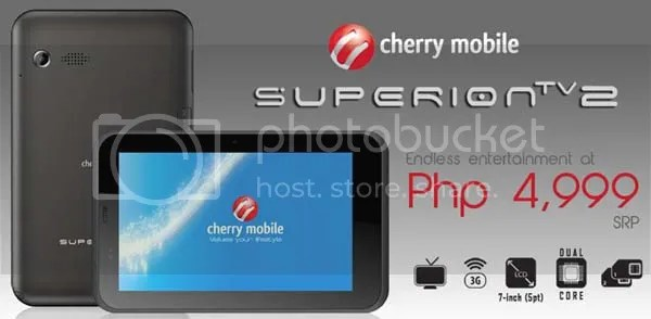 Mobile Tablet Super Ion Cherry Ion