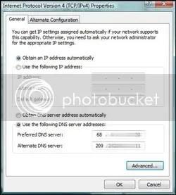 Windows Network DNS Addresses