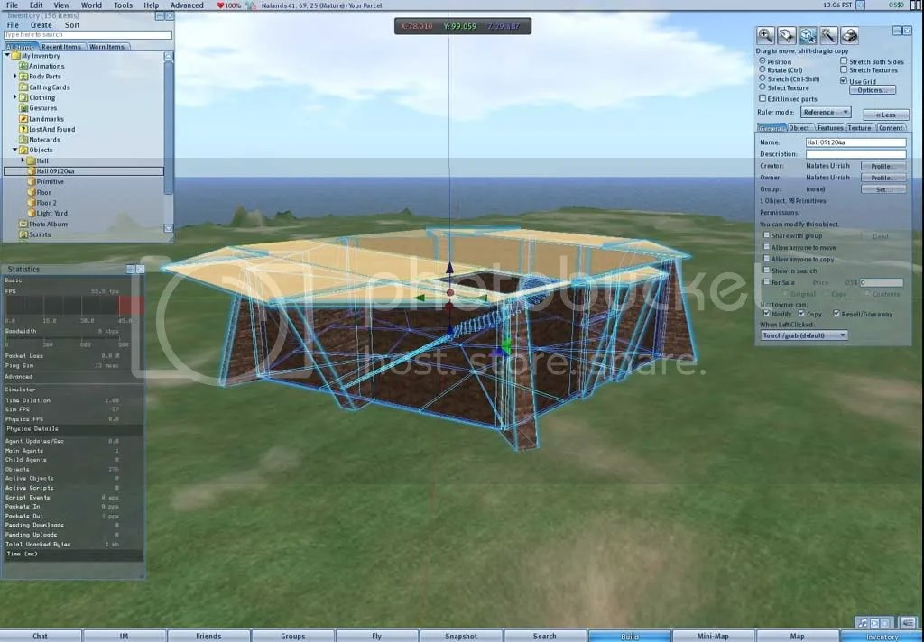 OSGrid,Hippo Viewer