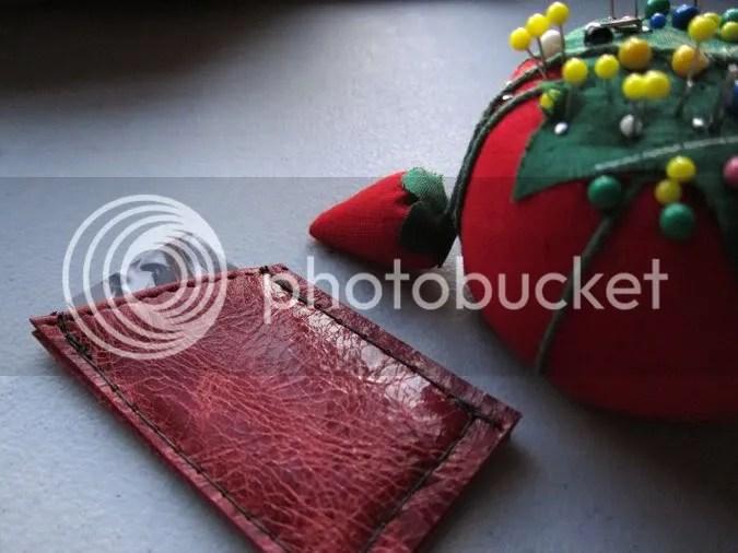 studio waterstone tutorial moo business card case