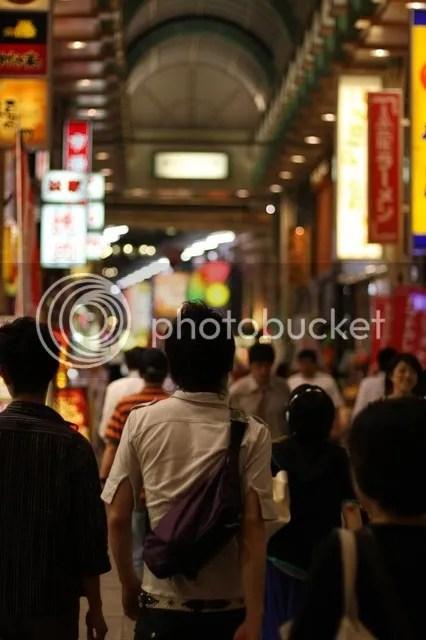 Osaka Shopping Arcades