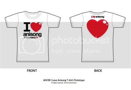 I LOVE ANISONG T-Shirt