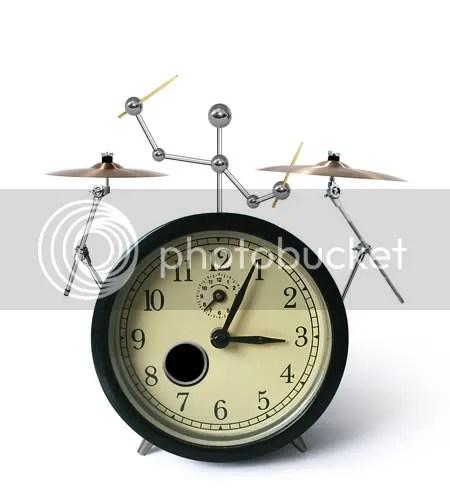 Drummer Alarm Clock