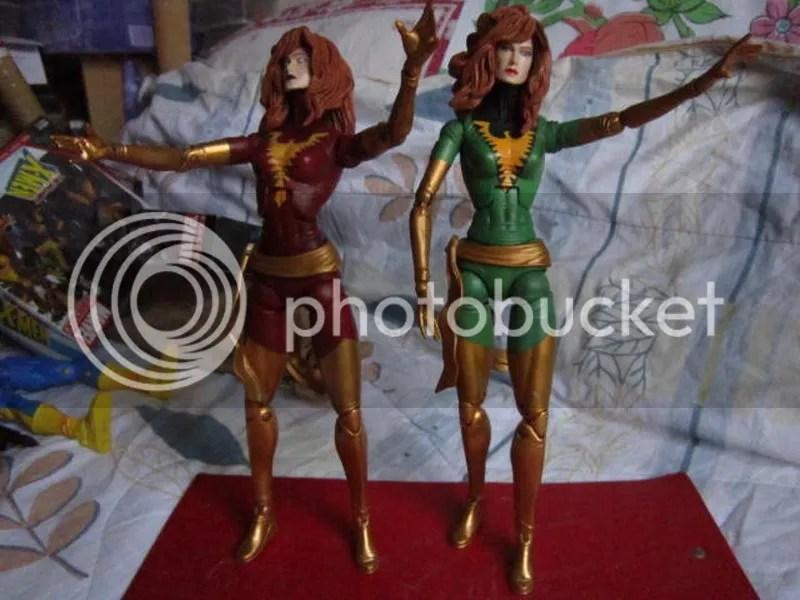 Marvel Legends Icons Universe 12 inch X-men Phoenix green red variants Dark