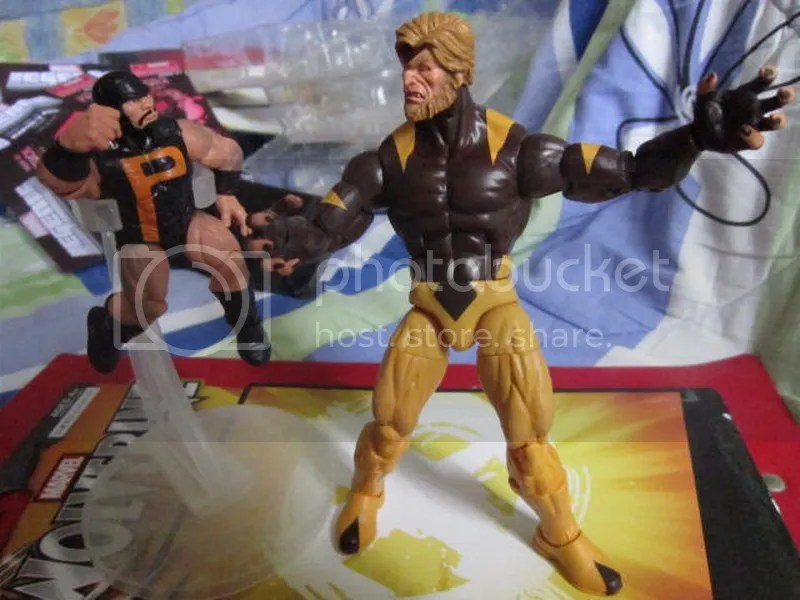 Marvel Legends Puck Alpha Flight X-men mutants X-Force Wolverine Sabretooth Cyclops Emma Frost White Queen Astonishing BAF Build a figure