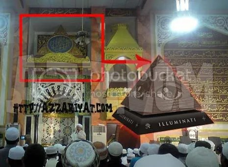 masjid dan illuminati