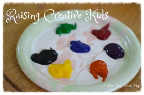raising creative kids // a series at if only they would nap