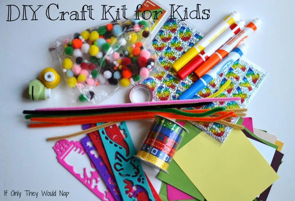 DIY craft kit for kids