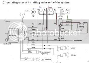ROKETA 250 WIRING DIAGRAM COLOR CODES  Auto Electrical