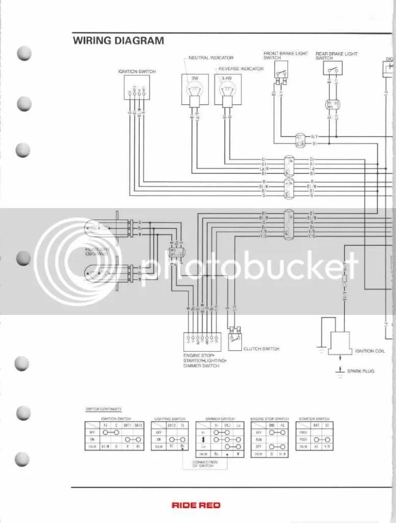 Rancher 350 Charging Diagram Wiring