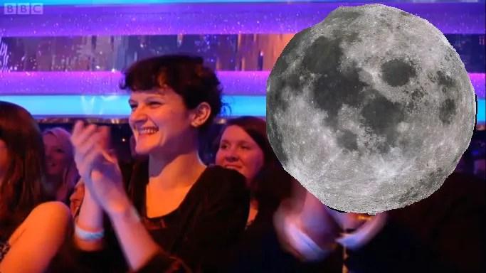 Hello, the moon.