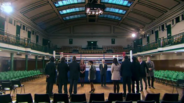 It's York Hall