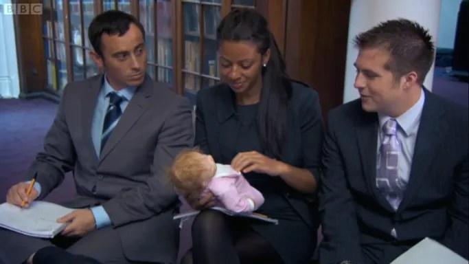 Oooh, look, a baby