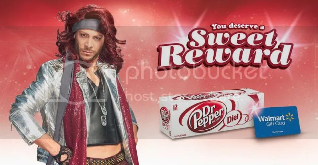 Dr. Pepper o Rollback at Walmart #ColorMeSweet