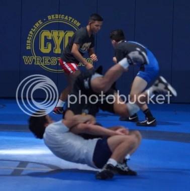 Mark Halvorson Leads CYC wrestling Nationals