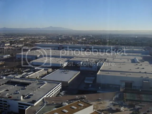 The Las Vegas Convention Center from my floor