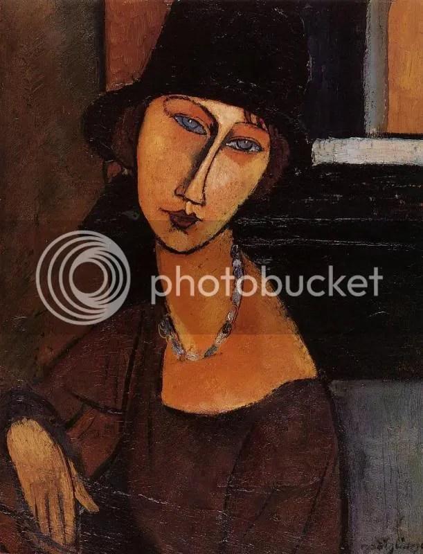 A Modigliani portrait of Hetuberne