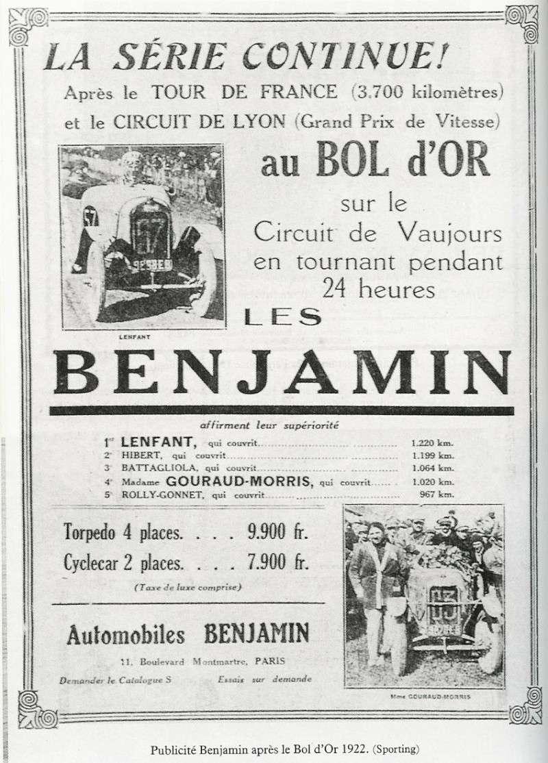 Anzeige Benjamin