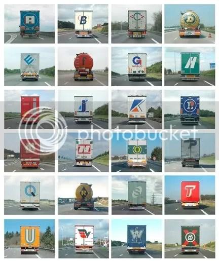 Alphabet Truck - Eric Tabuchi