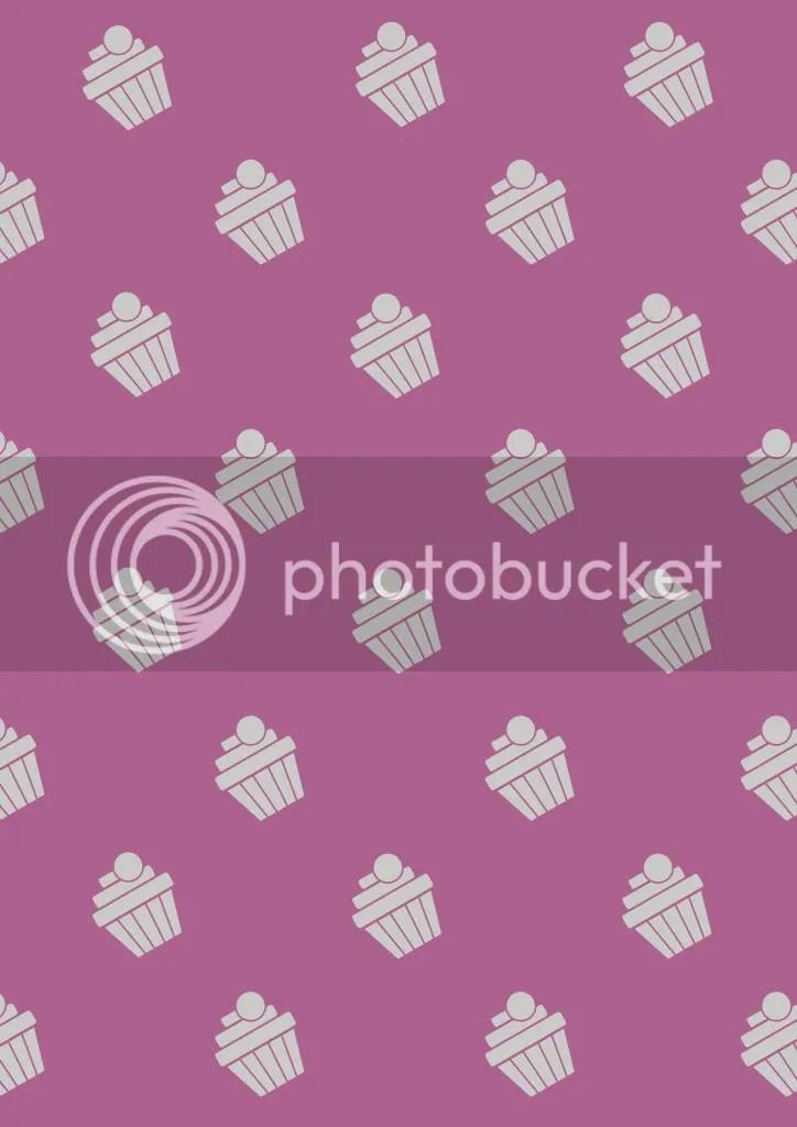 Pink Cupcake Pattern