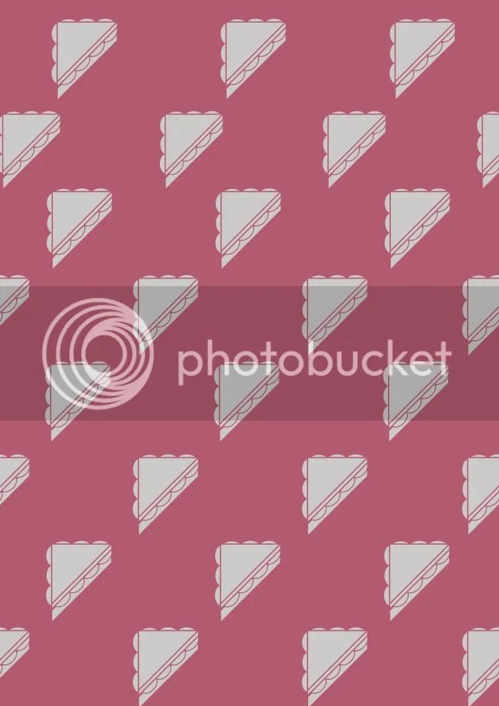 Red Sandwich Pattern