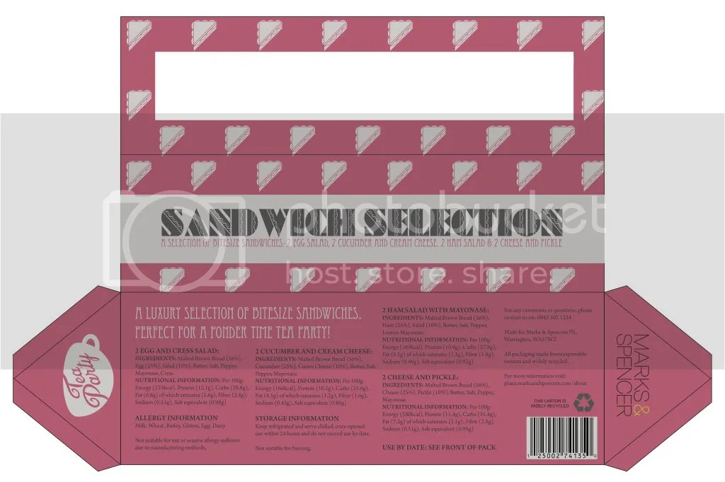 Ponder Time Sandwich Box
