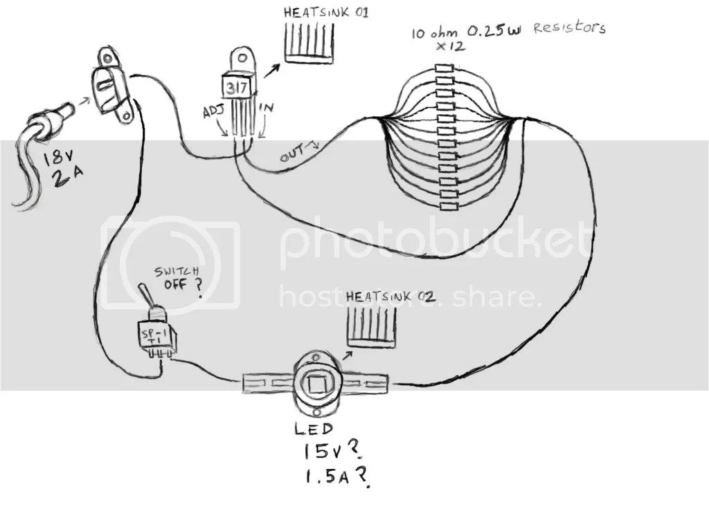 Led Projector Circuit Diagram Version 01 Pictures Images