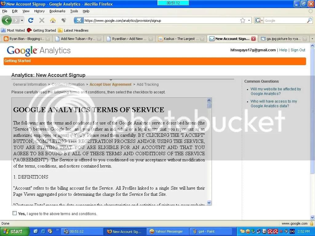 Menginstal Analytics