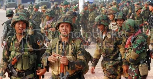 Combat Units Reinforced At Border