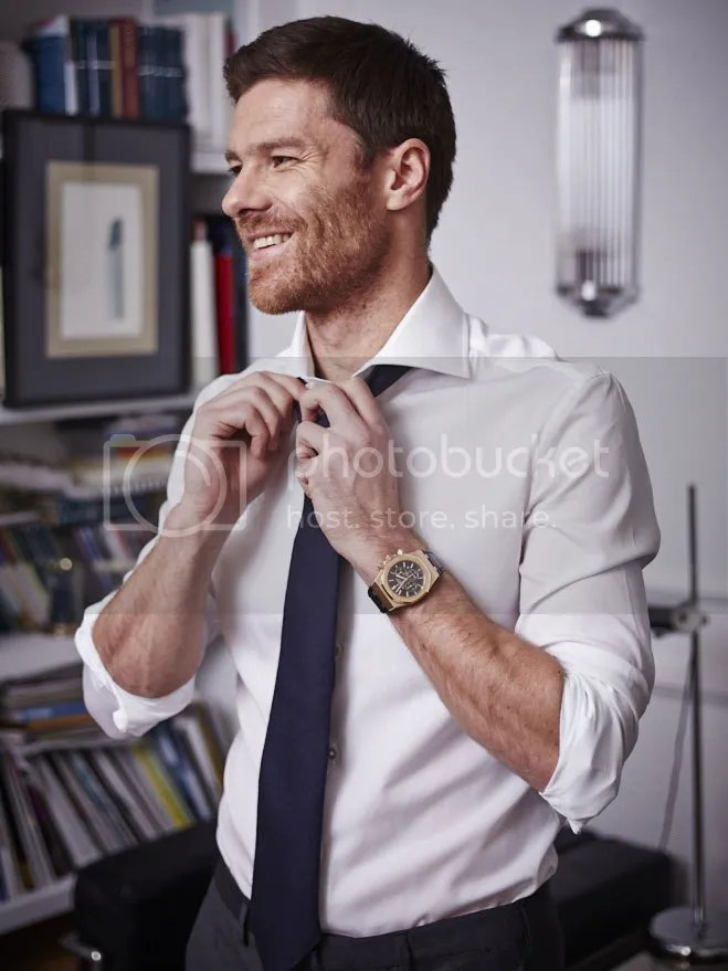 Xabi Alonso At Fuera De Serie | Following Real Madrid...