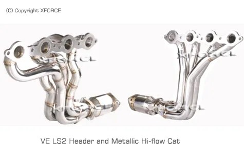 XFORCE Exhaust systems for Holden Commodore VT/VX/VY/VZ/VE