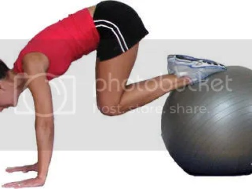Pilates Ball For Abdominal Workout