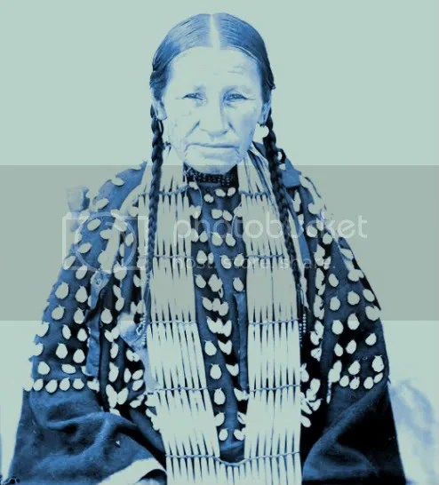 Mule Woman of the Oglala Sioux Lakota - 1907
