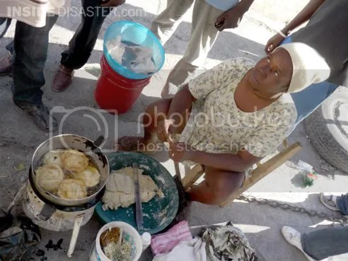 Woman entrepreneur Port-au-Prince