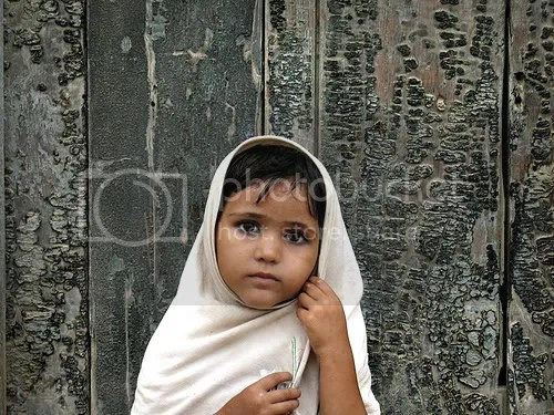 Minority girl from Sindh Province, Pakistan. Image: Alysha