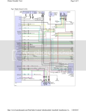 20122015 Factory Radio Wiring Diagram and info (Factory