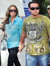 Jon Gosselin moving on on with his life.  3-1/2 weeks after they filed for divorce.  I am his biggest fan.