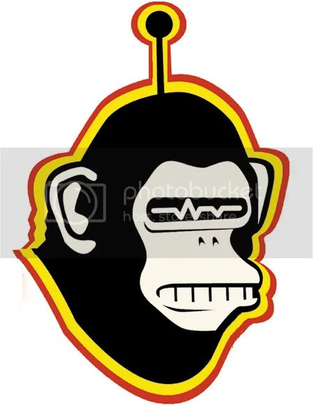 Monkbot Head on a Stick