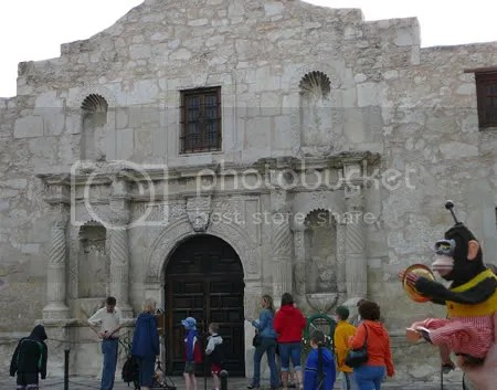 monkbot at the alamo