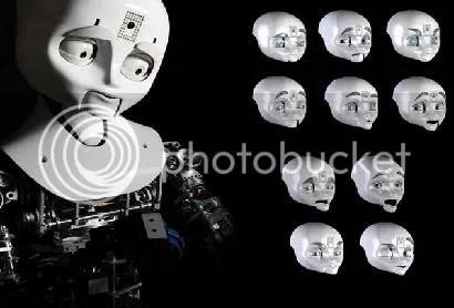expresion facial en los robots
