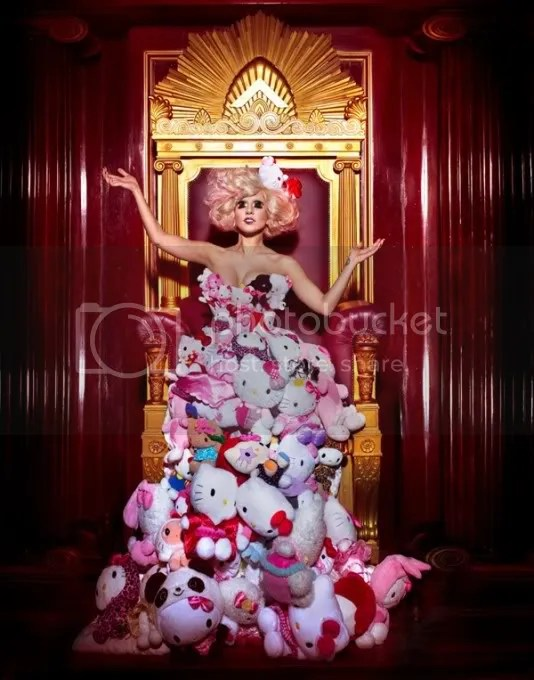 Lady Gaga Hello Kitty outfit