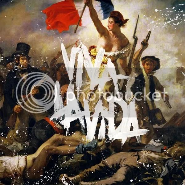 Viva La Vida or Death and All His Friends, 2008. Coldplay (active 1997-present). Record Company: Capitol. Design: Tappin Gofton. Painting: Eugène Delacroix.