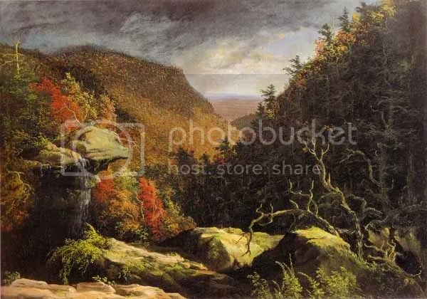 Thomas Cole  - The Clove, Catskills