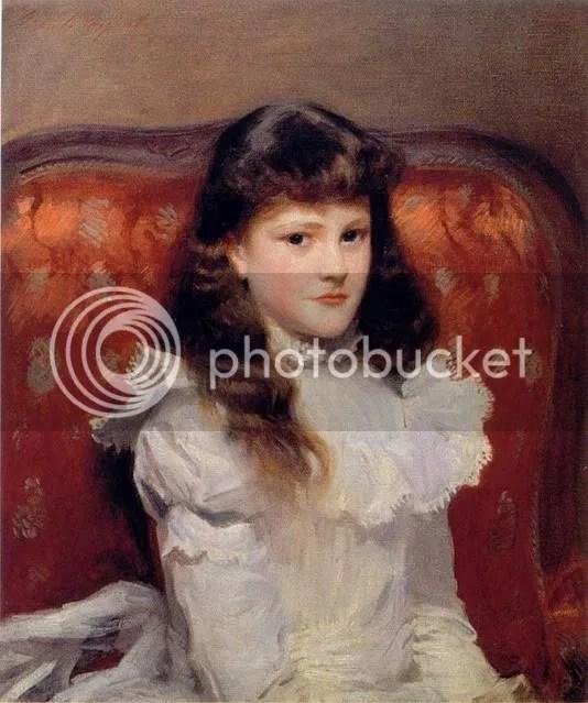 John Sargent Singer, Cara Burch (1888)